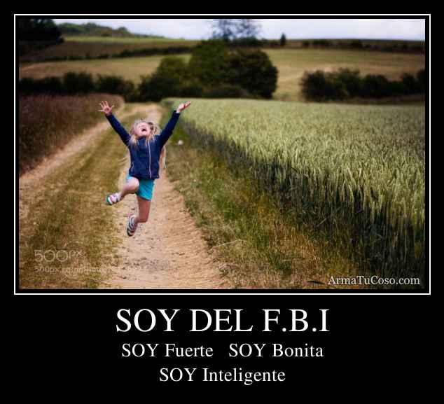 SOY DEL F.B.I