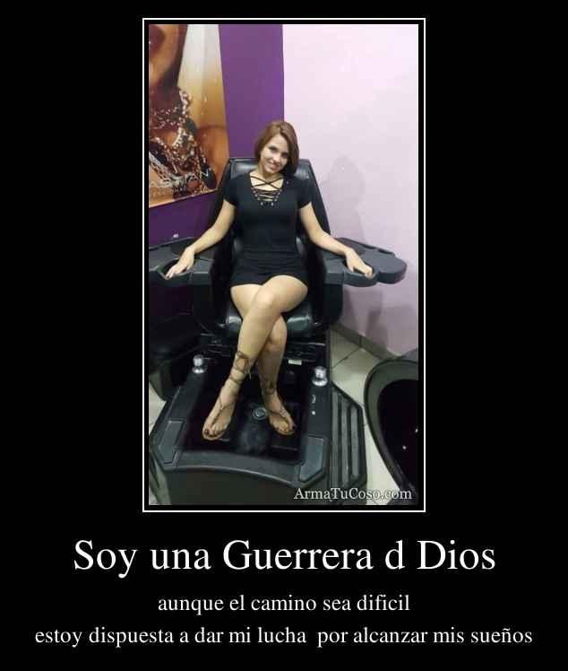 Soy una Guerrera d Dios