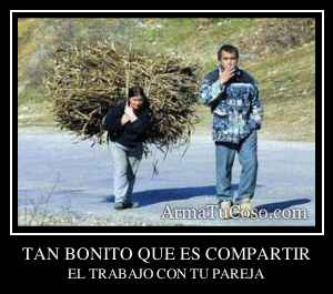 TAN BONITO QUE ES COMPARTIR