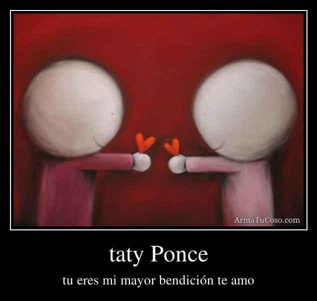 taty Ponce