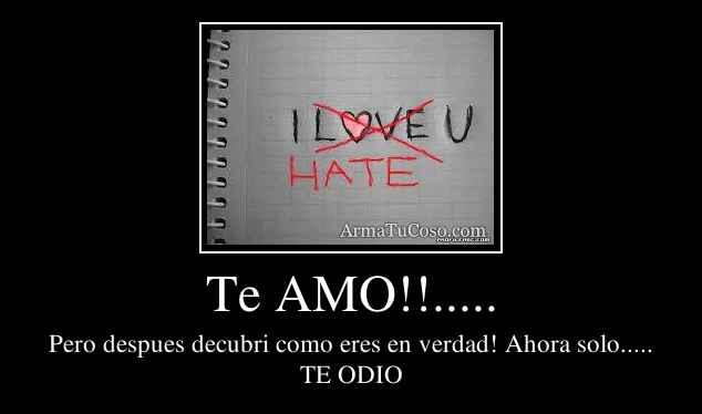 Te AMO!!.....