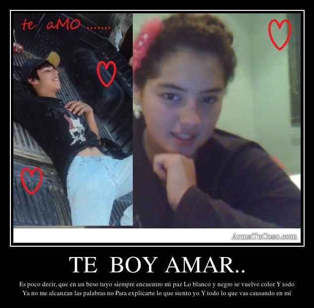 TE  BOY AMAR..