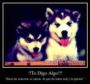 !!Te Digo Algo!!!