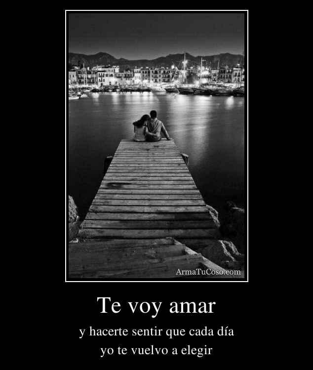Te voy amar