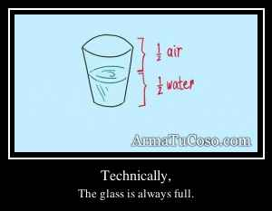 Technically,
