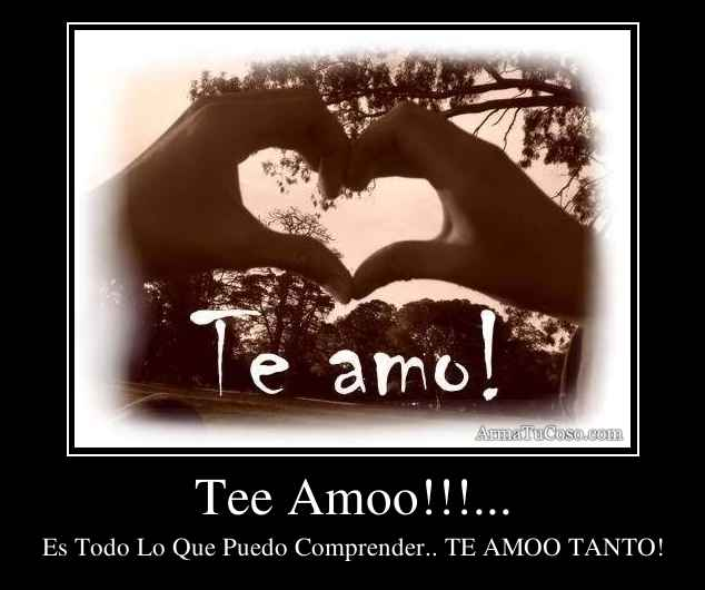 Tee Amoo!!!...