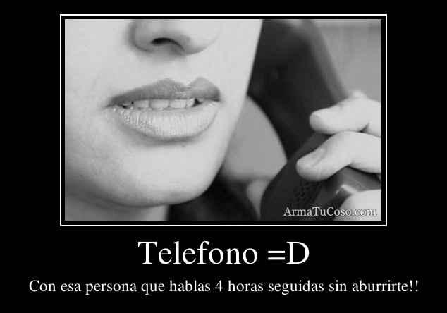 Telefono =D