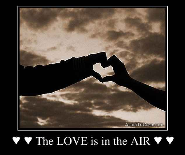 ♥ ♥ The LOVE is in the AIR ♥ ♥