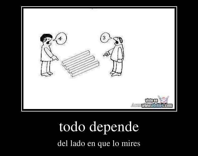 todo depende