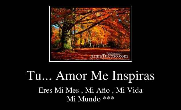 Tu... Amor Me Inspiras