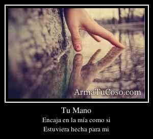 Tu Mano