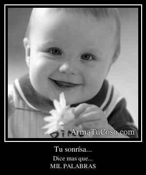 Tu sonrísa...