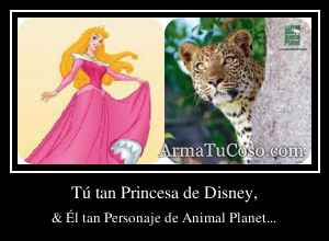 Tú tan Princesa de Disney,
