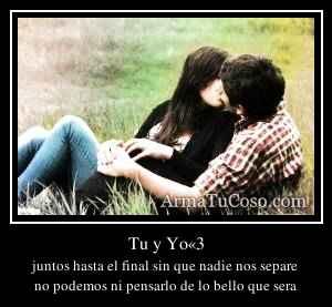 Tu y Yo«3