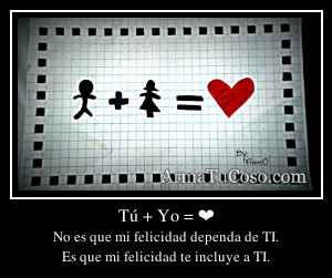 Tú + Yo = ❤