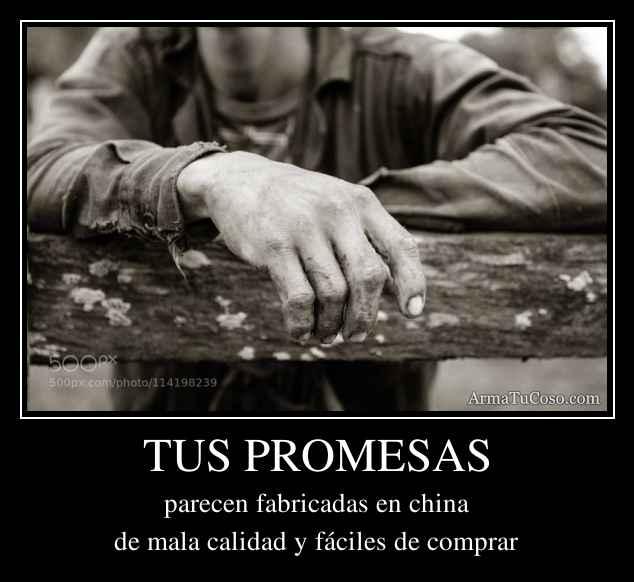 TUS PROMESAS