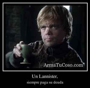 Un Lannister,
