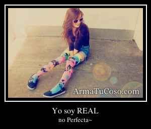 Yo soy REAL